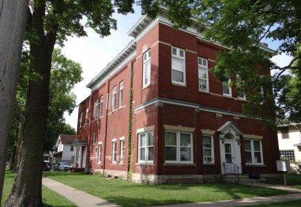 Winona State University off campus student housing at 451 West 7th Street #1